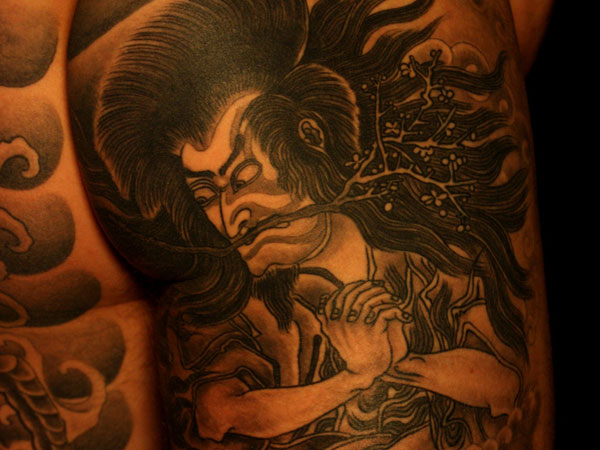 Powerful Yakuza Tattoo