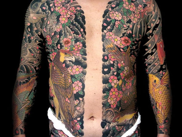 full body suit 25 Breathtaking Yakuza Tattoo Designs