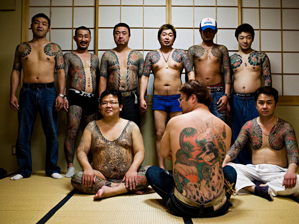 lots of tattoo 25 Breathtaking Yakuza Tattoo Designs