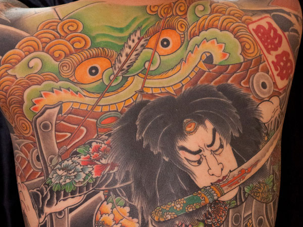 rurihakucho chojun 25 Breathtaking Yakuza Tattoo Designs