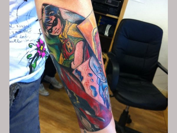 Sleeve Robin Tattoo