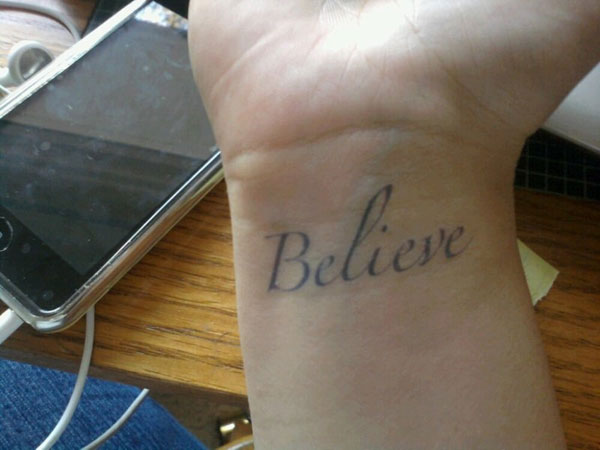 Yes, Believe