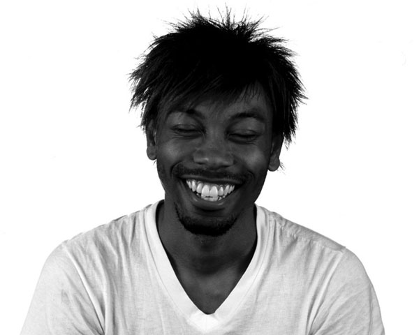 laughing man 30 Stylish Black Men Hairstyles