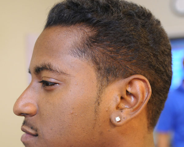 Peachy 30 Stylish Black Men Hairstyles Slodive Hairstyles For Women Draintrainus