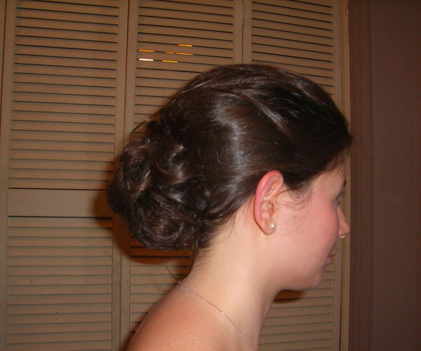 wedding bun 35 Impressive Bun Hairstyles