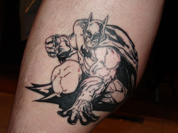Graphic Novel Tattoo