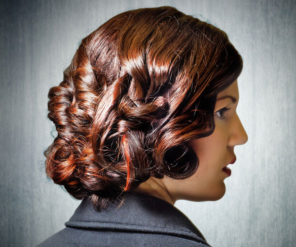nice hair 30 Spectacular Curly Bob Hairstyles