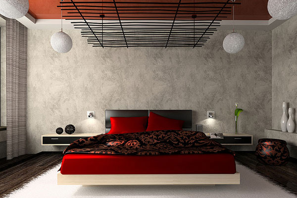 luxurious bedroom in red 30 Cute Bedroom Ideas You Can Implement