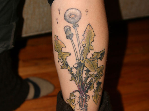 chelsea new tattoo 35 Sensational Dandelion Tattoo Collection