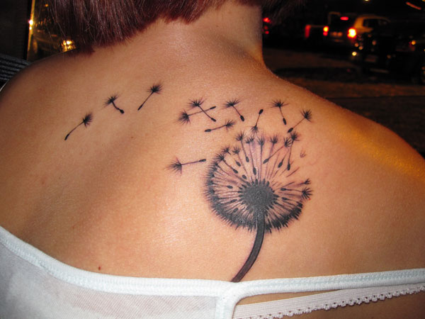 make a wish 35 Sensational Dandelion Tattoo Collection