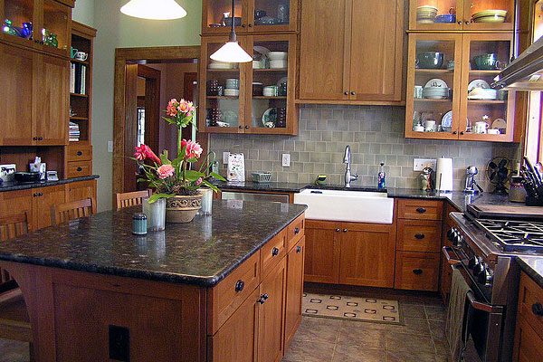 Black Kitchen Walls Brown Cabinets 30 marvelous dark kitchen cabinets - slodive