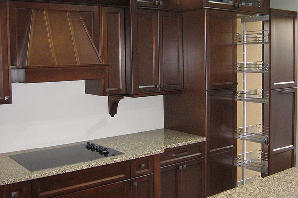 Dark Cabinetry