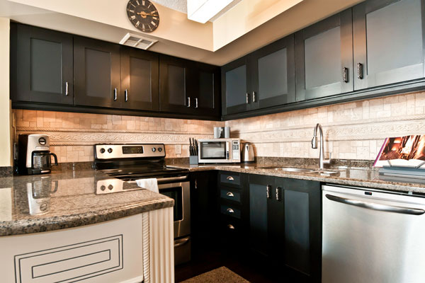 Modern Kitchen Cabinets Black 30 marvelous dark kitchen cabinets - slodive