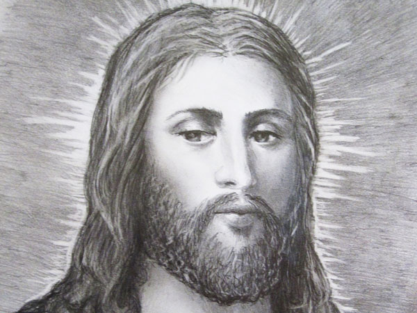 glowing 30 Magnificent Drawings of Jesus