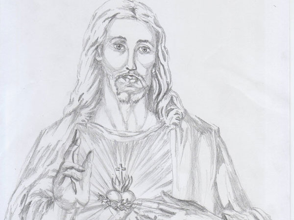 jesus forever 30 Magnificent Drawings of Jesus
