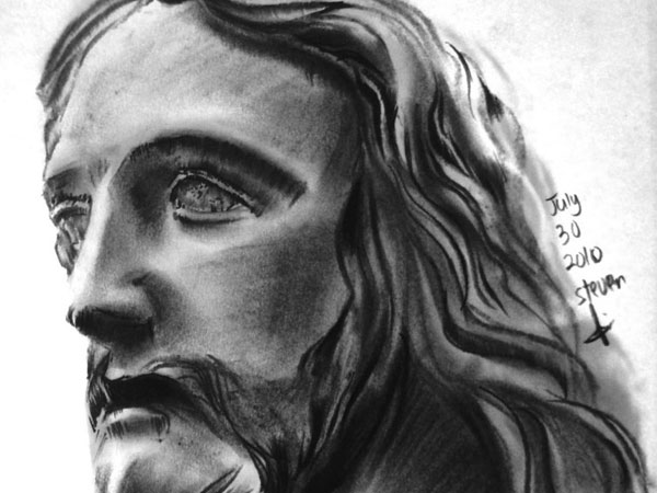 jesus scripture 30 Magnificent Drawings of Jesus
