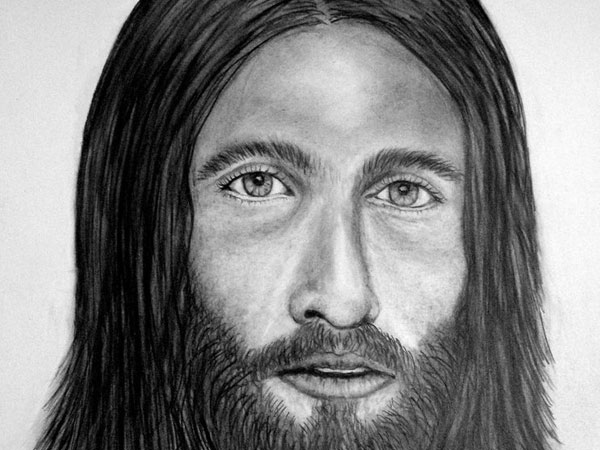 jesus 30 Magnificent Drawings of Jesus