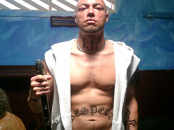 gangster body tattoo 25 Groovy Gangster Tattoos