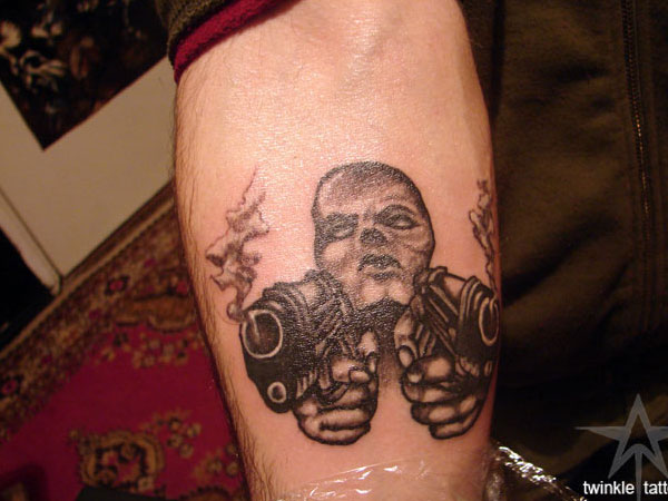 tattoo gangster 25 Groovy Gangster Tattoos