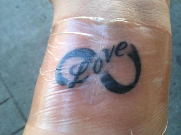 infinite love 30 Remarkable Infinity Symbol Tattoo Designs