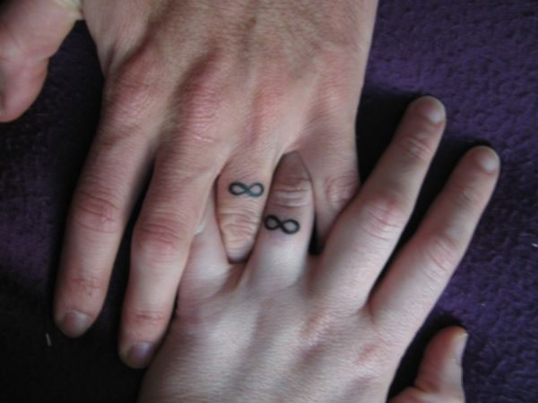 the engagement tattoos 30 Remarkable Infinity Symbol Tattoo Designs