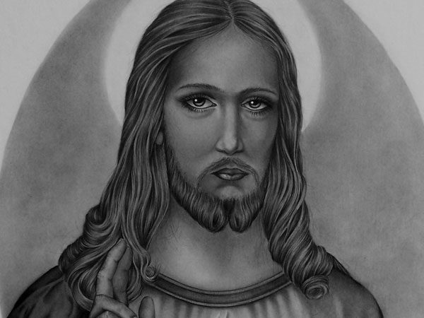 Drawings of Jesus 30 Magnificent Examples - Design Press