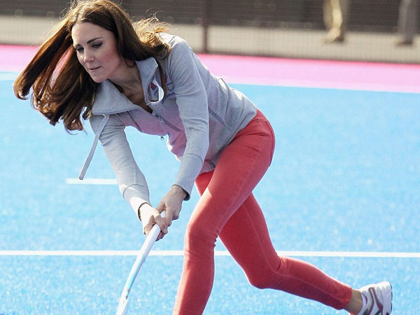 Sporty Kate Middleton