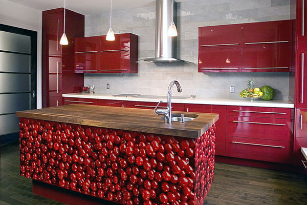 Juiced Up Kitchen Design