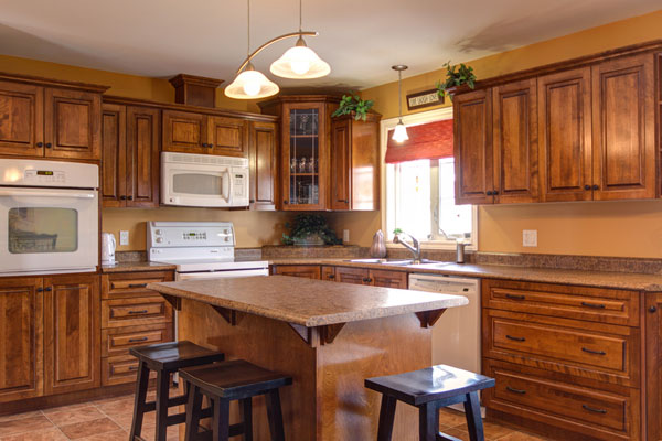 All Wood Kitchen