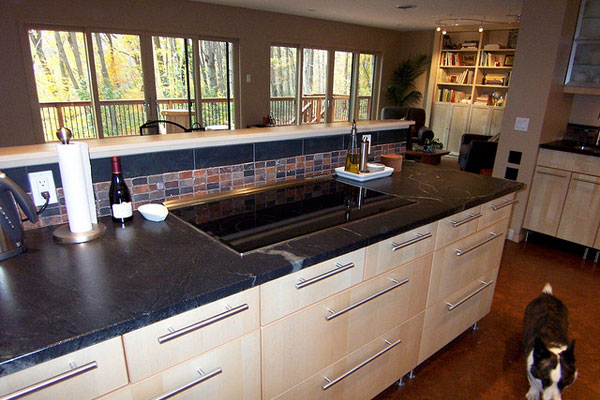 finished kitchen 40 Oustanding Kitchen Island Ideas