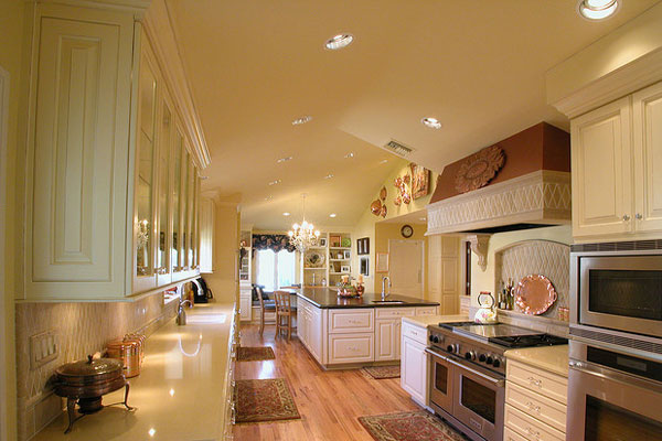 french country kitchen 40 Oustanding Kitchen Island Ideas