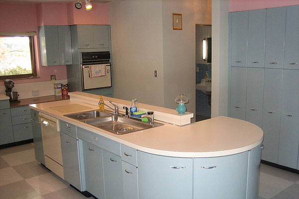 side view of kitchen island 40 Oustanding Kitchen Island Ideas