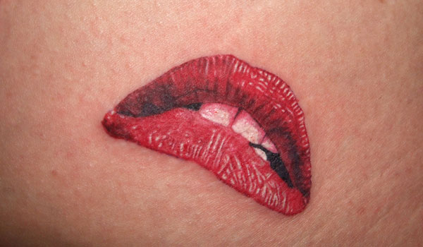 Tattoo Of Lips