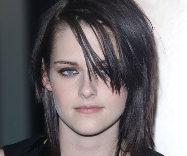 kristen stewart rocker chic hairstyle 30 Spectacular Medium Shag Hairstyles
