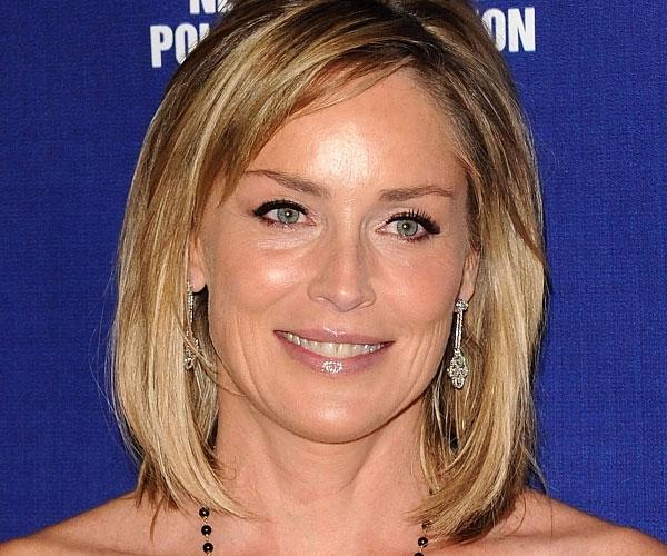 sharon stone 30 Spectacular Medium Shag Hairstyles