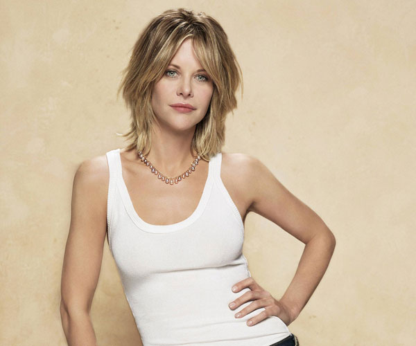 Meg Ryan Layered Look