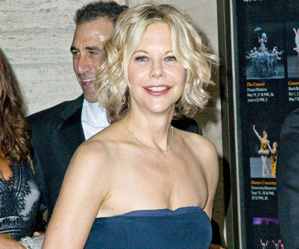 Meg Ryan Goes Short