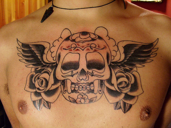 calaca mexican 35 Astounding Mexican Tattoos