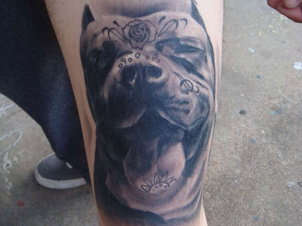 day of the dead pitbull 35 Astounding Mexican Tattoos
