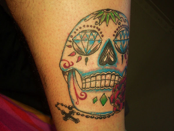 leg tattoo 35 Astounding Mexican Tattoos