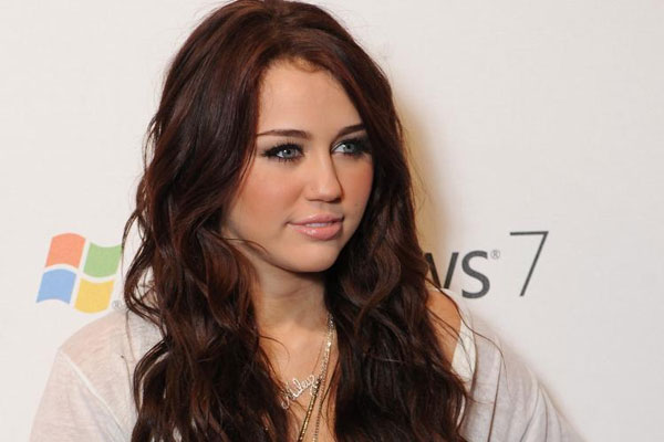 Brown Hairstyle Miley Cyrus