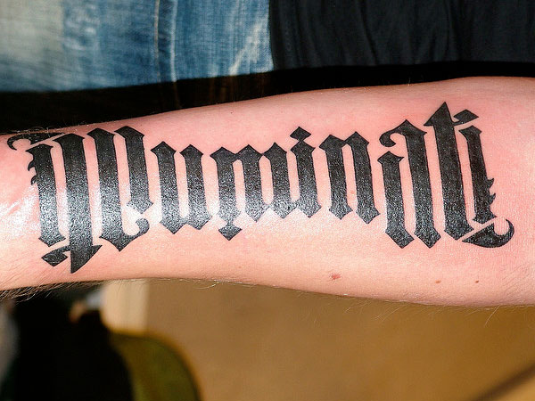 Elegant One Word Tattoo