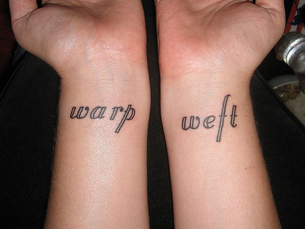 Word Weave Tattoos