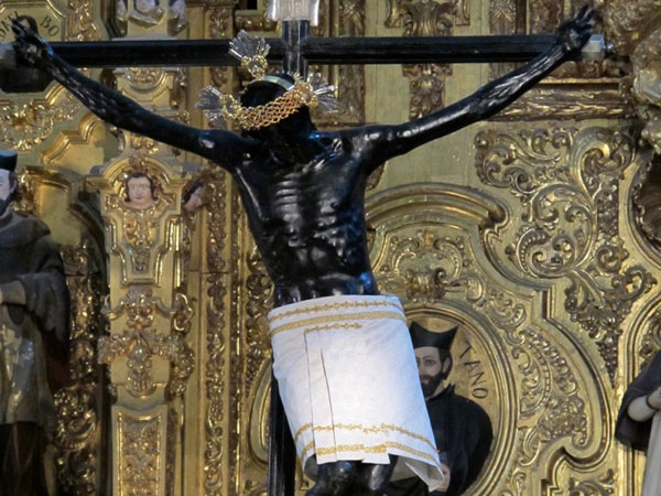Ornate Black Jesus