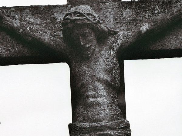 Medieval Jesus Statue