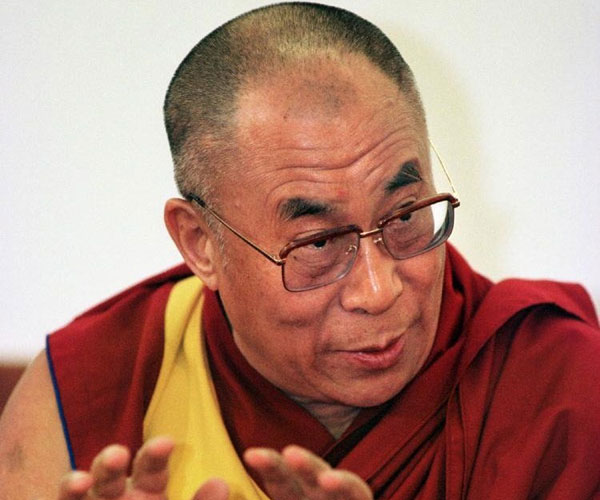 Dalai Lama Happy Picture