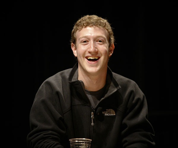 mark zuckerberg 30 Marvelous Pictures of Famous People