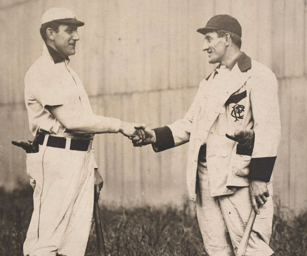 napoleon lajoie and honus wagner 30 Marvelous Pictures of Famous People
