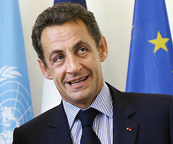 nicolas sarkozy 30 Marvelous Pictures of Famous People