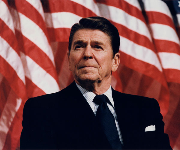 ronald reagan 30 Marvelous Pictures of Famous People